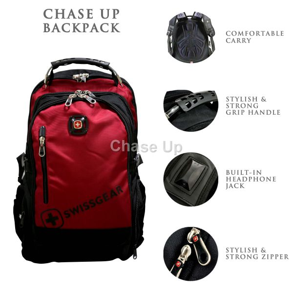 Gents Backpack 770 / TI-001 Imp (Red)